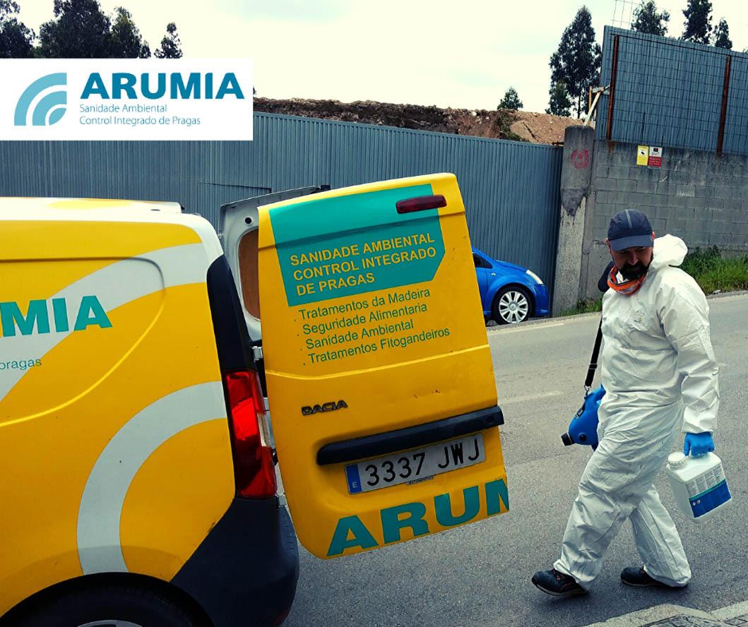 desinfección en Coruña