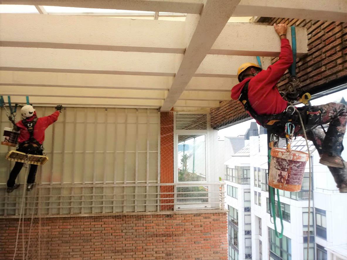 redes anti aves Ferrol