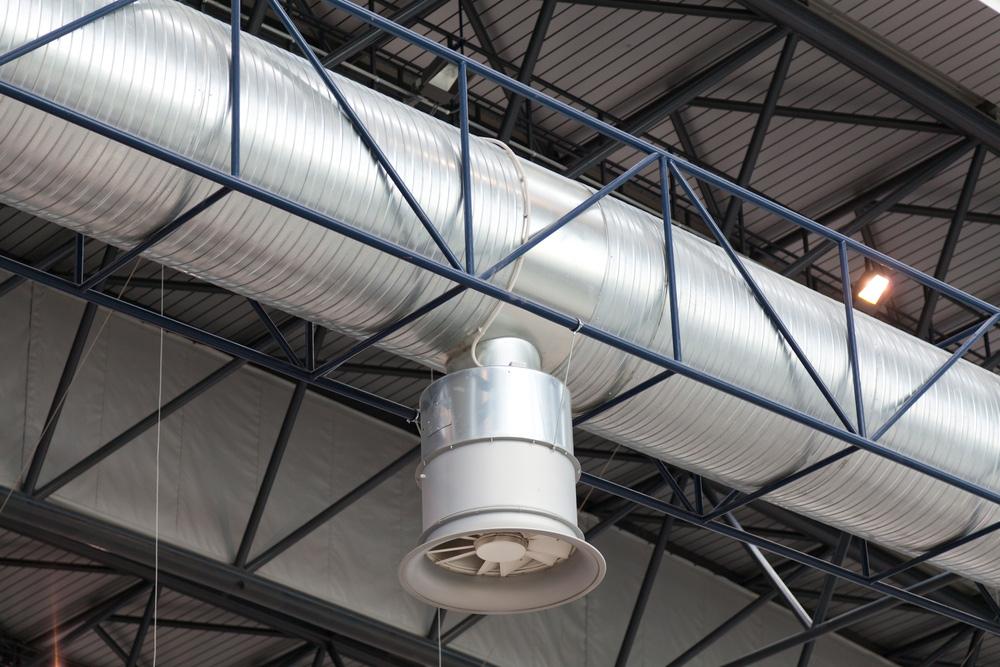 Conducto de aire para extracción y aire acondicionado