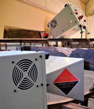 ecowood control de temperatura