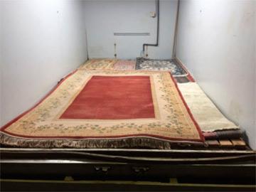 tratamiento de alfombras en atmosfera controlada